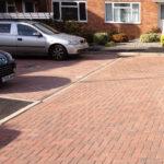 Block paved parking
